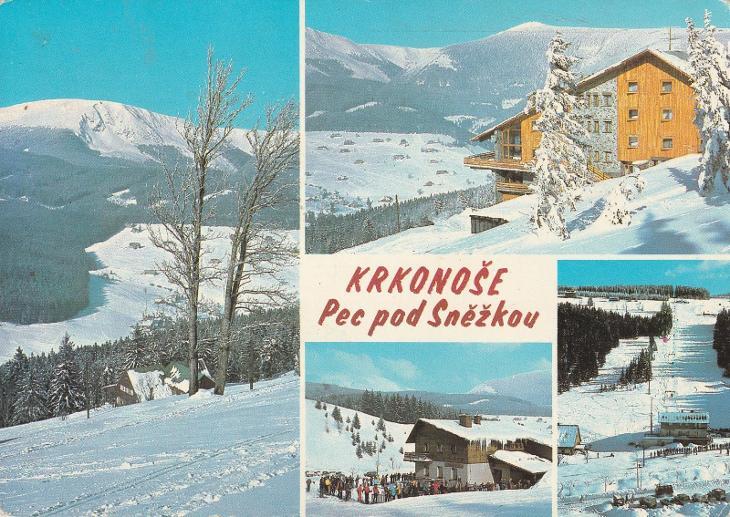 Krkonoše -  Pec pod Sněžkou - Pohlednice