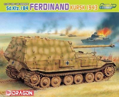 RARE DRAGON 1/35 Sd.Kfz.184 Ferdinand Kursk 1943 Premium EDICE