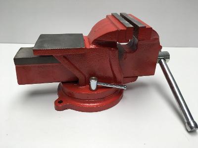 Masivní svěrák do dílny, s kovadlinou, 100mm, váha 6kg, nový