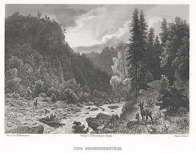 Stanek Bernskestein, Schroller, oceloryt, 1885