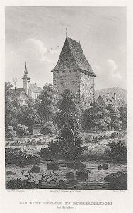 Siedlęcin , Schroller, oceloryt, 1885