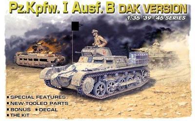 RARE DRAGON 1/35 Panzer I Ausf.B DAK Version 1943