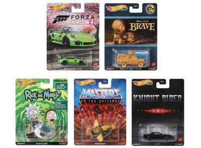 Sada premium Hot Wheels Retro Entertainment - 5 modelů K.I.T.T. 911GT3