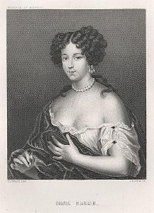 Mancini Maria,  Payne, oceloryt, (1860)