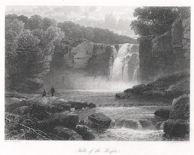 Hespte Fall, oceloryt, (1860)