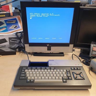 MSX Philips VG8020/40 funkčný, otestovaný,  zachovalý