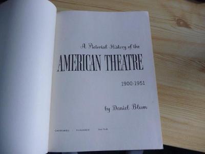 AMERICAN THEATRE 1900-51 !! ZAJÍMAVÉ , divadlo - film