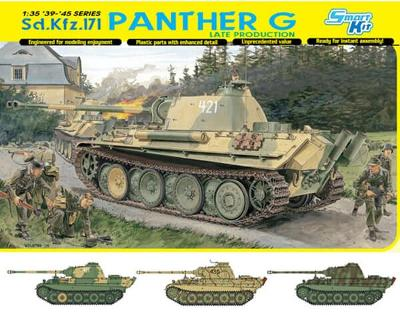 RARE DRAGON 1/35 Sd.Kfz.171 Panther G Late Production