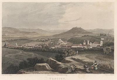 Teplice, Weidmann, kolor. oceloryt, 1840