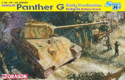 RARE DRAGON 1/35 SdKfz 171 Panther Ausf. G Early Production Pz.Reg.26