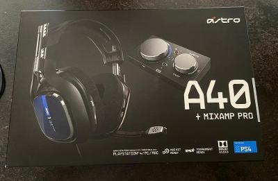 Astro A40 sluchátka + mixamp pro