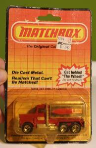 Matchbox SF - Peterbilt Tanker No.56 GETTY