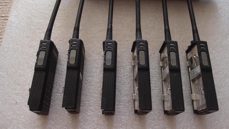 NABÍJECÍ STANICE NA 6 VYSÍLAČEK MOTOROLA GP 300 VHF - Nabíječky
