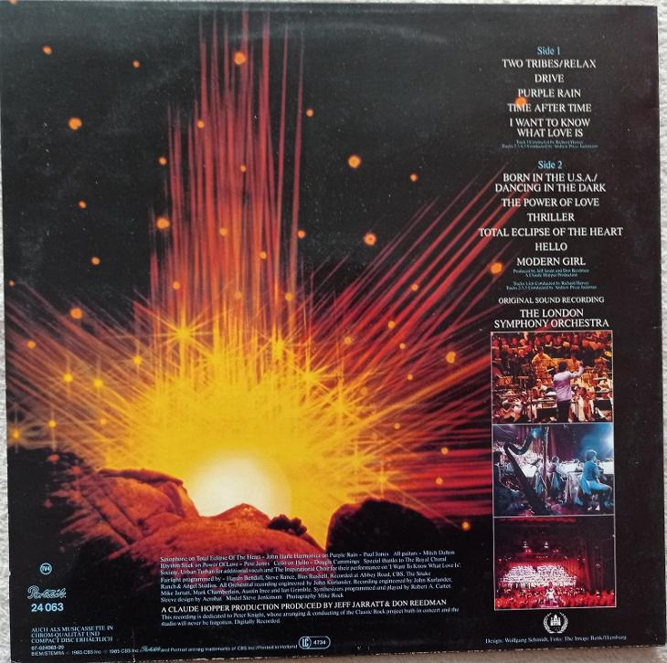 London Symphony-Power of Classic Rock - PORTRAIT 1985-EX+ - Hudba