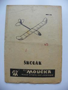 ŠKOLÁK  - stavební plánek - MOUČKA - viz foto