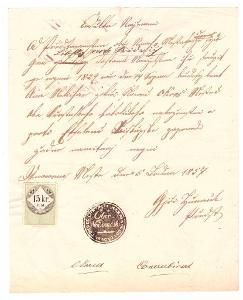 Nové Město nad Cidlinou - ohlášky sňatku 1857