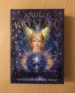 Vykládací karty Doreen Virtue Andělé krystalů