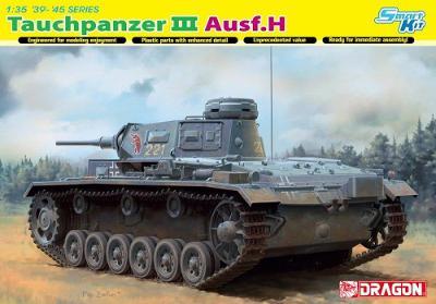 RARE DRAGON 1/35 Pz.Kpfw.III Tauchpanzer Ausf.H