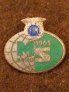 MOTORISMUS MS BRNO 1965 smalt