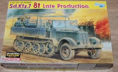 RARE DRAGON 1/35 Sd. Kfz.7 8t Halftrack Late Production