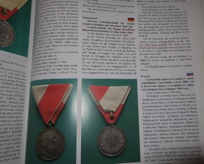 RRR medaile - RU Vyznamenání FJI 1866 /PRAHA ! /  VZÁCNÁ  Stříbro - Ag