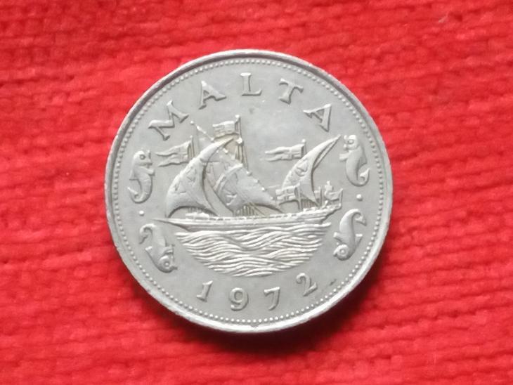 Malta 10 cent 1972 - Numismatika