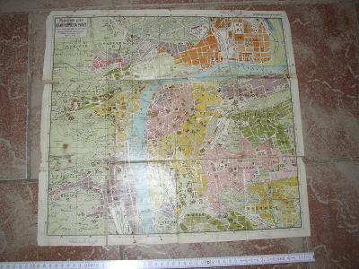 stará mapa-  Praha