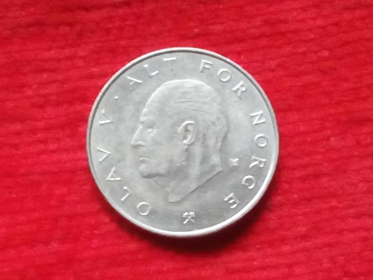 Norsko 1 krone 1978 - Numismatika