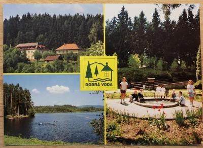 Pohlednice okénková 1999 - Dobrá Voda