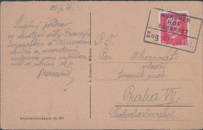 14B774 Deutschland - Munchen/ pan mladší  Charvát- továrník sudů