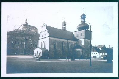 10D2614 Náchod - zámek, kostel