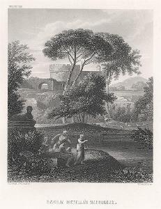 Roma Caecilie Metella , Payne, oceloryt (1860)