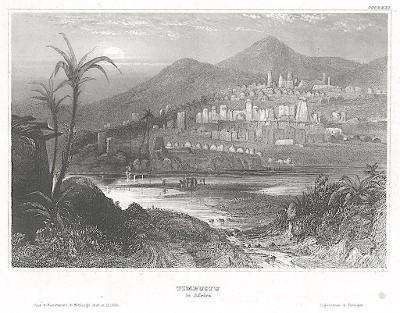 Timbuktu, Meyer, oceloryt, 1850