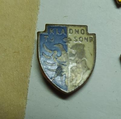 P50 1 x odznak-  Tělovýchovná jednota TJ- SONP KLADNO