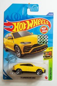 Hot Wheels 2020 Factory Sealed - 17 Lamborghini Urus