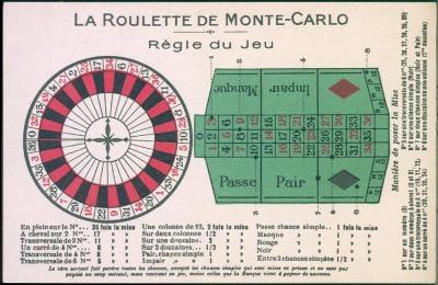 27A1054 Monte Carlo - pravidla hry ruleta