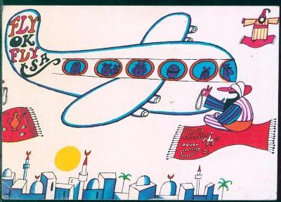 10L160 Letecky- Praha letiště- ADOLF BORN- 1972, Marseille- Flughafen