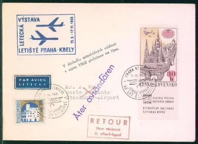 10L250 Výstava - přelož. na říjen - okupace v srpnu 1968, vzácné RR