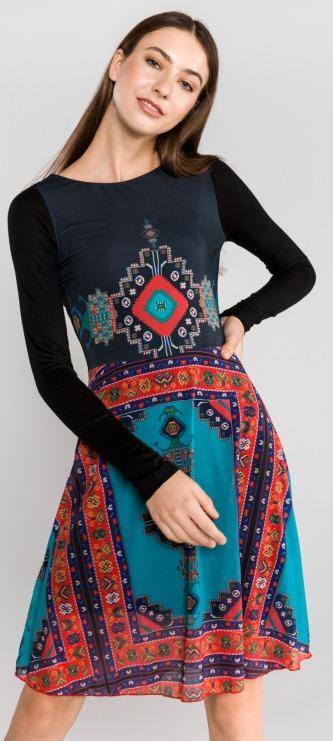 DESIGUALvest_julianne luxusní šaty/ s(uni s-m)