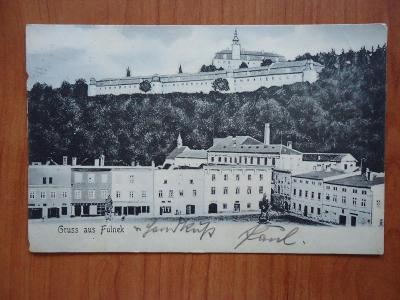 Gruss aus Fulnek......1912