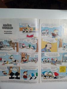 Časopis, Kačer Donald z roku 2006, bez obálky