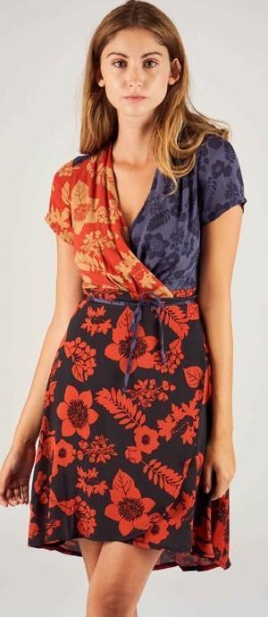 DESIGUALvest_Vevey luxusní zavinující šaty// 42(uni m-l) nové 1,-