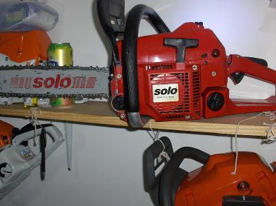 Silná pila SOLO  651  benzinová pila o výkonu 4.0 kM  rS      GERMANY