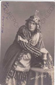 Josef Kainz, německý herec(1858-1910), DA