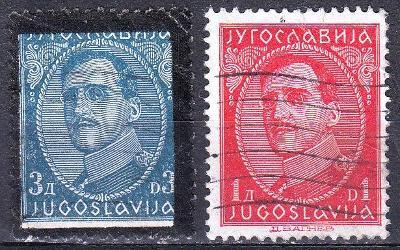 Jugoslávie, ražená - od 1kč