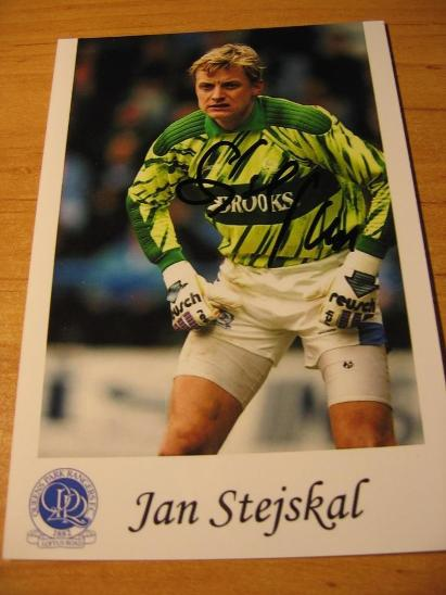 Jan Stejskal - QPR - orig. autogram  - Ostatní