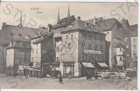 Cheb (Eger), Stöckl - Pohlednice