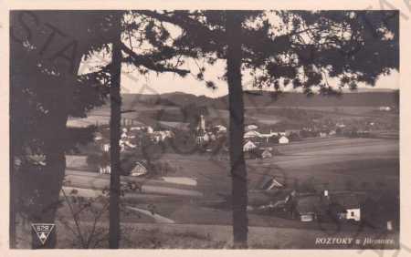Roztoky u Jilemnice, celkový pohled
