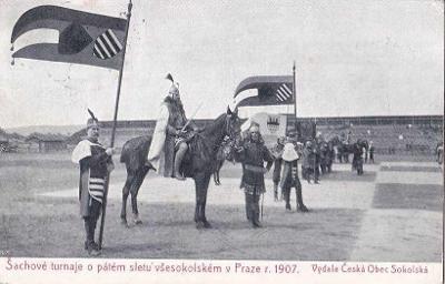 ŠACHOVÉ TURNAJE 1907 - VELMI VZÁCNÉ -9-PY59