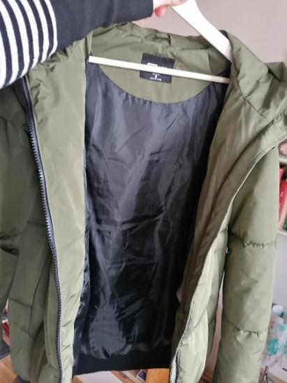 KHAKI TEPLA BUNDA/ FB SISTER/ S - Dámské oblečení